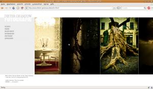 Screenshot dieter-gramzow.de Fotografie